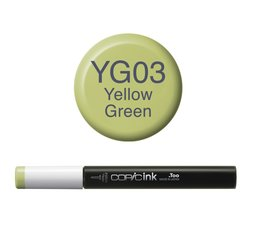 Copic inktflacon Copic inktflacon YG03 Yellow Green