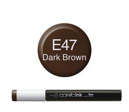 Copic inktflacon Copic inktflacon E47 Dark Brown