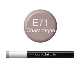 Copic inktflacon Copic inktflacon E71 Champagne