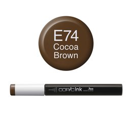Copic inktflacon Copic inktflacon E74 Cocoa Brown