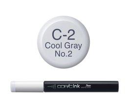 Copic inktflacon Copic inktflacon C2 Cool Gray 2