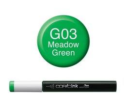 Copic inktflacon Copic inktflacon G03 Meadow Green