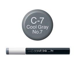 Copic inktflacon Copic inktflacon C7 Cool Gray 7