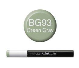 Copic inktflacon Copic inktflacon BG93 Green Gray