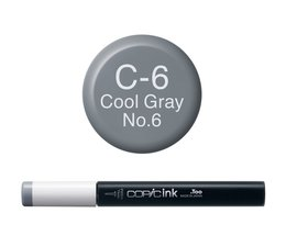 Copic inktflacon Copic inktflacon C6 Cool Gray 6