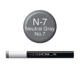 Copic inktflacon Copic inktflacon N7 Neutral Gray 7