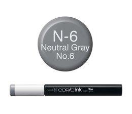 Copic inktflacon Copic inktflacon N6 Neutral Gray 6