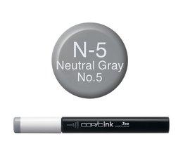 Copic inktflacon Copic inktflacon N5 Neutral Gray 5