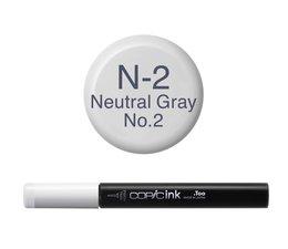 Copic inktflacon Copic inktflacon N2 Neutral Gray 2