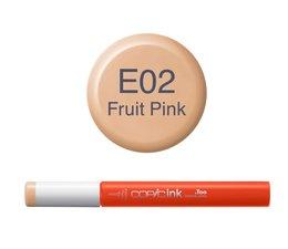 Copic inktflacon Copic inktflacon E02 Fruit PCopic inktflacon
