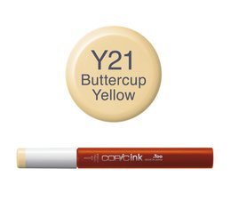 Copic inktflacon Copic inktflacon Y21 Buttercup Yellow