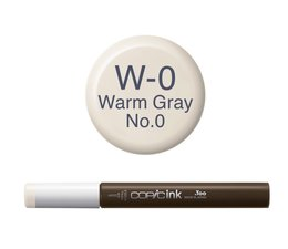 Copic inktflacon Copic inktflacon W0 Warm Gray 0