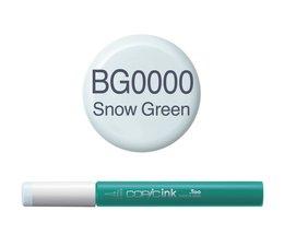 Copic inktflacon Copic inktflacon BG0000 Snow Green