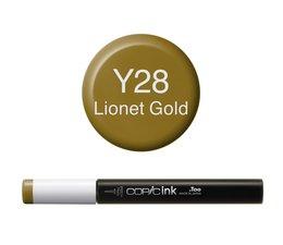 Copic inktflacon Copic inktflacon Y28 Lionet Gold