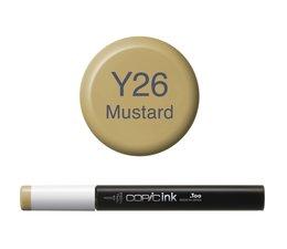 Copic inktflacon Copic inktflacon Y26 Mustard