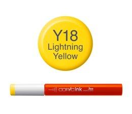 Copic inktflacon Copic inktflacon Y18 Lightning Yellow