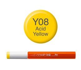 Copic inktflacon Copic inktflacon Y08 Acid Yellow