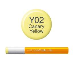 Copic inktflacon Copic inktflacon Y02 Canary Yellow