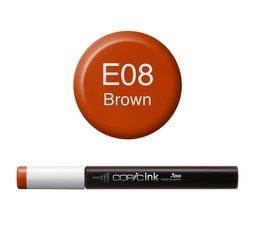 Copic inktflacon Copic inktflacon E08 Brown
