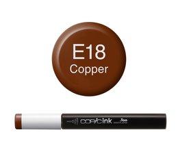 Copic inktflacon Copic inktflacon E18 Copper