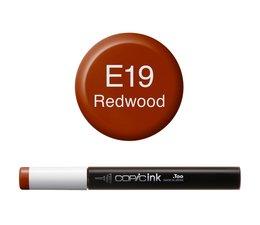 Copic inktflacon Copic inktflacon E19 Redwood