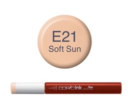 Copic inktflacon Copic inktflacon E21 Soft Sun