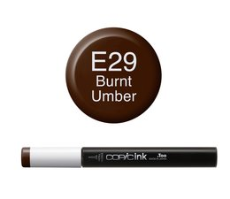 Copic inktflacon Copic inktflacon E29 Burnt Umber