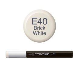 Copic inktflacon Copic inktflacon E40 Brick White