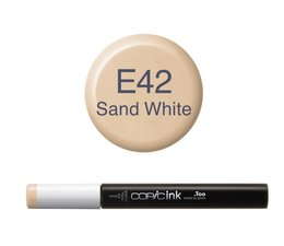 Copic inktflacon Copic inktflacon E42 Sand White