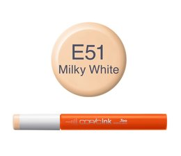 Copic inktflacon Copic inktflacon E51 Milky White