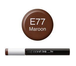 Copic inktflacon Copic inktflacon E77 Maroon