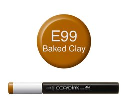 Copic inktflacon Copic inktflacon E99 Baked Clay