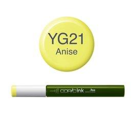 Copic inktflacon Copic inktflacon YG21 Anise