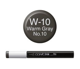 Copic inktflacon Copic inktflacon W10 Warm Gray 10