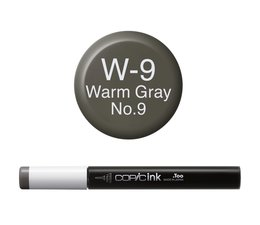 Copic inktflacon Copic inktflacon W9 Warm Gray 9