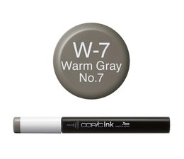 Copic inktflacon Copic inktflacon W7 Warm Gray 7