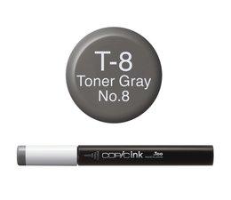 Copic inktflacon Copic inktflacon T8 Toner Gray 8