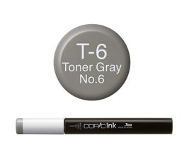 Copic inktflacon Copic inktflacon T6 Toner Gray 6
