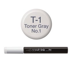 Copic inktflacon Copic inktflacon T1 Toner Gray 1