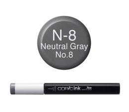 Copic inktflacon Copic inktflacon N8 Neutral Gray 8