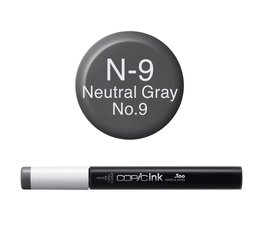 Copic inktflacon Copic inktflacon N9 Neutral Gray 9