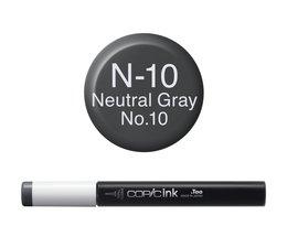 Copic inktflacon Copic inktflacon N10 Neutral Gray 10