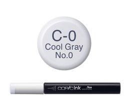 Copic inktflacon Copic inktflacon C0 Cool Gray 0