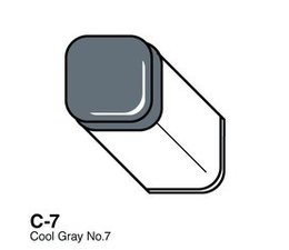 Copic marker original Copic marker C07 cool gray 7