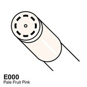 Copic Ciao marker E000 pale fruit pink