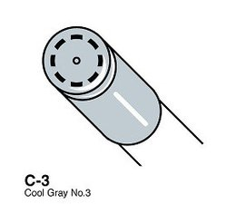 Copic Ciao marker Copic Ciao marker C3 cool gray 3