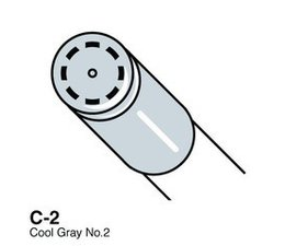 Copic Ciao marker Copic Ciao marker C2 cool gray 2