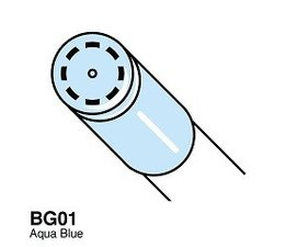 Copic Ciao marker Copic Ciao marker BG01 aqua blue