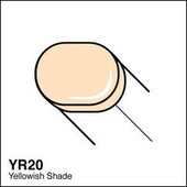 Copic Sketch marker YR20 yellowish shade