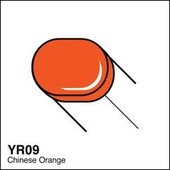 Copic Sketch marker YR09 chinese orange